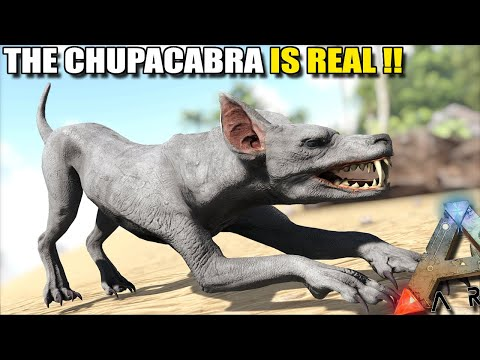 THE CHUPACABRA IS REAL!! | STEAMPUNK | ARK SURVIVAL EVOLVED EP27