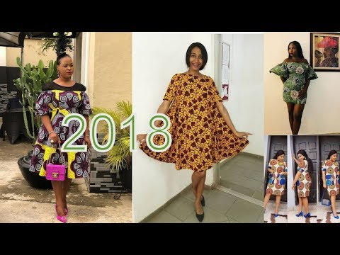 2018 African Print Dresses : Best Ankara African Gown Styles