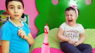 Celina And Hasouna in Amusement Park Play - سيلينا وحسونة مدينة ملاهي
