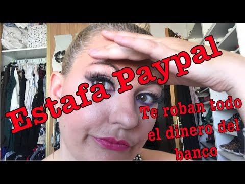 Estafa en PayPal Phishing -Te roban todo el dinero del banco
