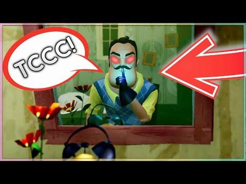 ПРИВЕТ СОСЕД СЕКРЕТНАЯ КОМНАТА ДЕТЕЙ Hello Neighbor Alpha 1 секретная дверь финал секреты пасхалки