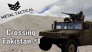 Humvee Across Takistan Pt 1 - Arma 3 Zeus