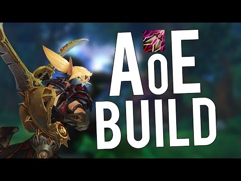 Fan of Knives AoE Build - Assassination Rogue PvP WoW Legion 7.2