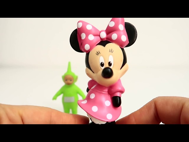 3 Surprise Teletubbies Minnie Mouse and Super Mario