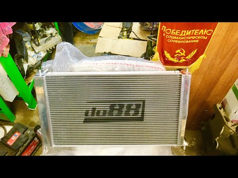 Обзор радиатора DO88 для Saab 9-5 / DO88 radiator review