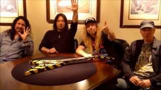 MESSAGE FROM STRYPER - 'NO MORE HELL TO PAY' LATIN AMERICA TOUR