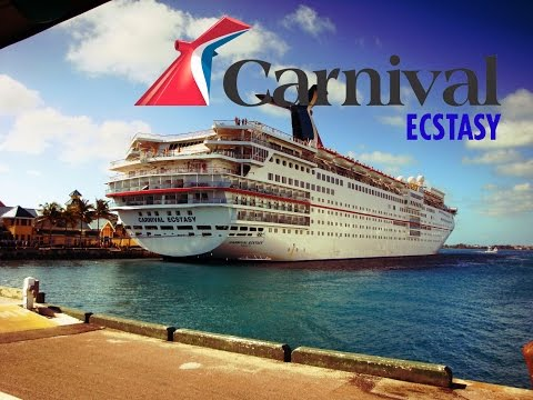 Carnival Ecstasy. Going out in the  bahamas.