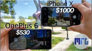 OnePlus 6 vs iPhone X Camera: In-Depth Camera Test Comparison