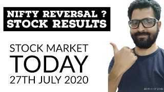 NIFTY REVERSAL ? | Stock Results | Stock Market Today | Tamil Share | Intraday Trading Strategy