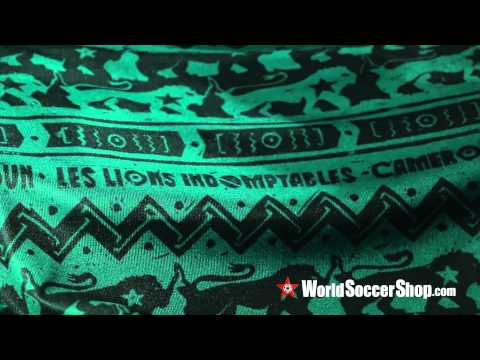Puma Cameroon 2014 Home Soccer Jersey - Unboxing