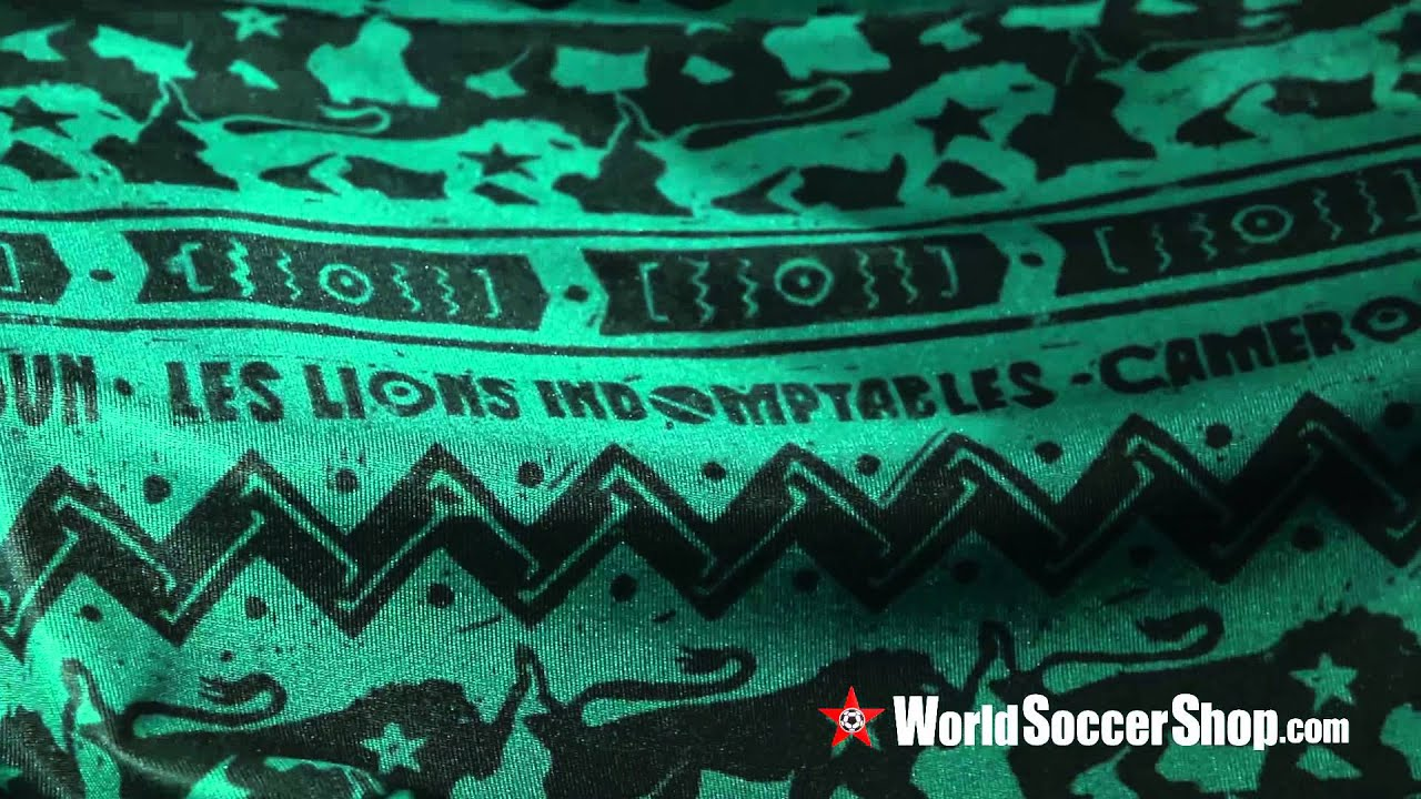4bba76af512 Puma Cameroon 2014 Home Soccer Jersey - Unboxing - YouTube