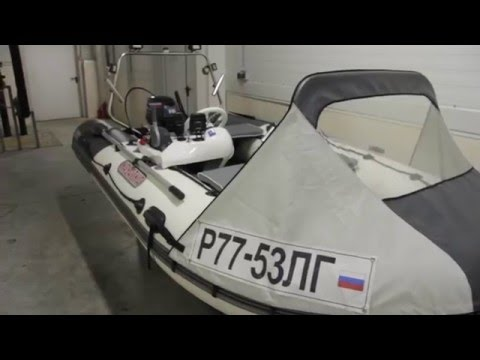 сборка лодки касатка 385 видео