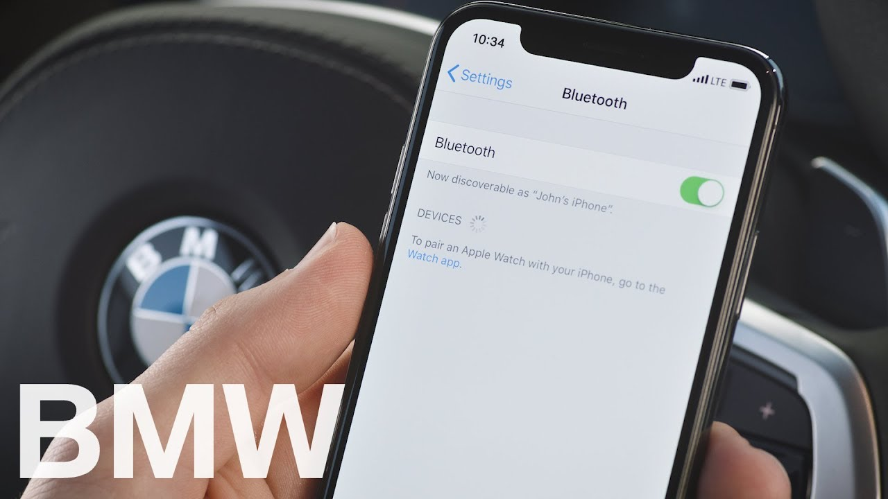 How to connect your mobile phone to the car via Bluetooth - BMW How-To