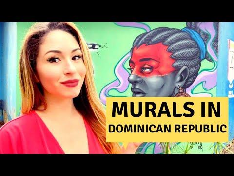STREET ART & MURALS in The Dominican Republic   Graffiti Tour- Arte Urbano