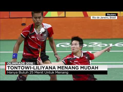 Olimpiade Rio: Jago Bulutangkis Indonesia Melaju Mulus