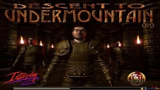 Descent to Undermountain gameplay (PC Game, 1998)