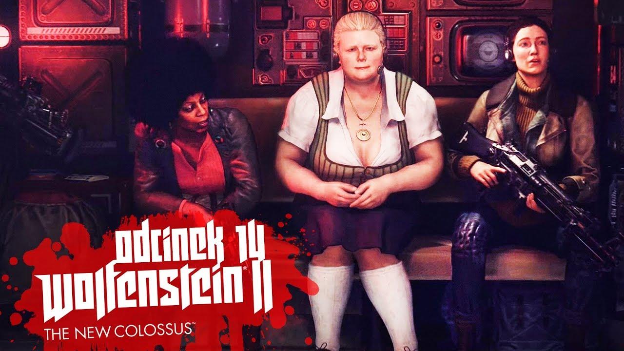 Zagrajmy w Wolfenstein II The New Colossus #14 – SZYKUJEMY ZASADZKĘ! – PC