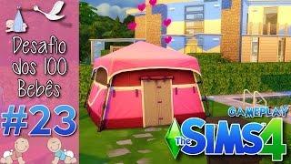 The Sims 4 - Desafio Dos 100 Bebês #23 - A Cabana Do Amor