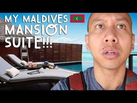 OMG! NEW MANSION OCEAN SUITE TOUR (Maldives) | Vlog #5