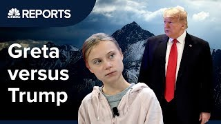 Trump vs Greta: How climate change took over Davos | CNBC Reports