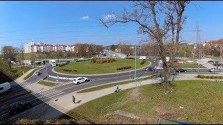 Po pierwsze Olsztyn - koniec ronda turbinowego