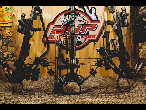 Center Point Sniper 370 Crossbow assembly and test firi ...