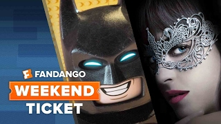 Fifty Shades Darker, John Wick: Chapter Two, The Lego Batman Movie | Weekend Ticket