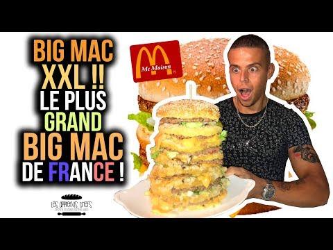 BIG MAC XXL !! Le PLUS GRAND BIG MAC de FRANCE ! (#4 Winter Food Tour Bordeaux)
