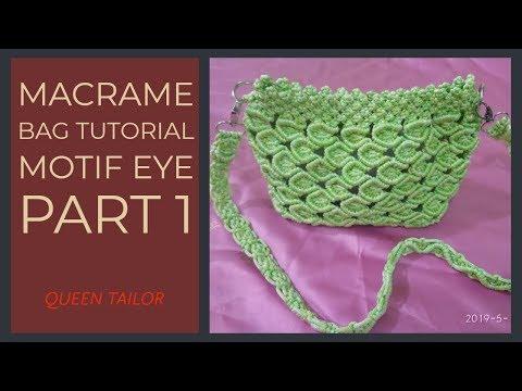 Tutorial Macrame Eye Motif Part 1 2019
