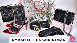 BEST LUXE DUPES for CHRISTMAS :  CHANEL, ACNE, MANOLO BLAHNIK | Sophie Shohet