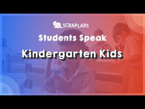 What the Engineers of Kindergarten say ? | Scraplabs