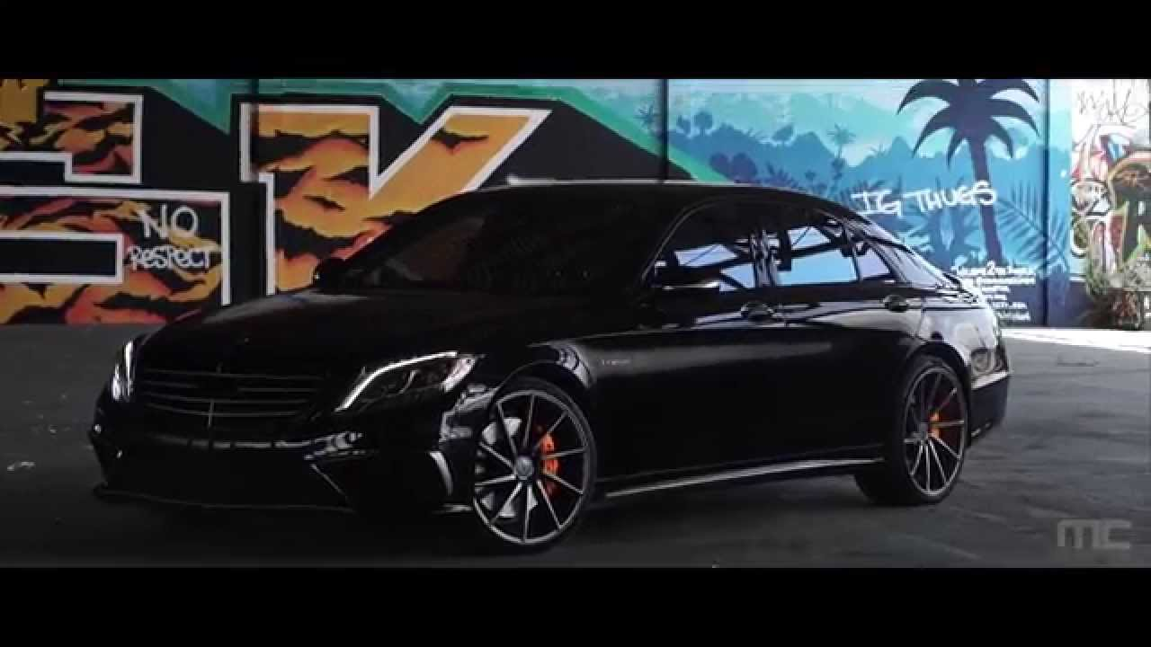 Mc customs mercedes benz s63 vossen wheels youtube for Bob ross mercedes benz