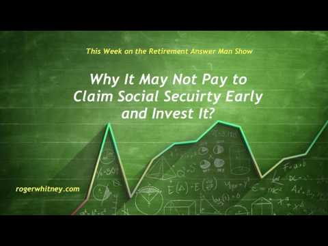 #167 - Should I use Social Security Income To Fuel My Retirement Investments?