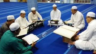 Tadarus Al-Quran 3 Ramadan 1437H Masjid Nur Syahadah Kampung Melayu Kangkar Pulai.
