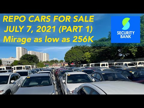 Part 1 Security Bank Repossessed Cars for Sale  (Las Pinas)