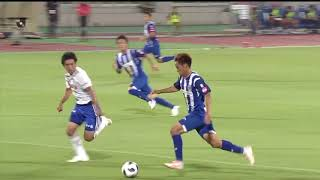 2018年7月21日(土)に行われた明治安田生命J2リーグ 第24節 山形vs新...