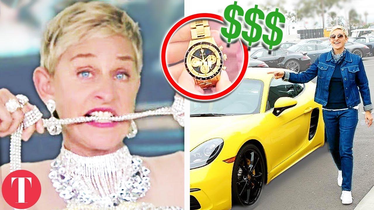 20 Things Ellen Degeneres Spends Her Millions On