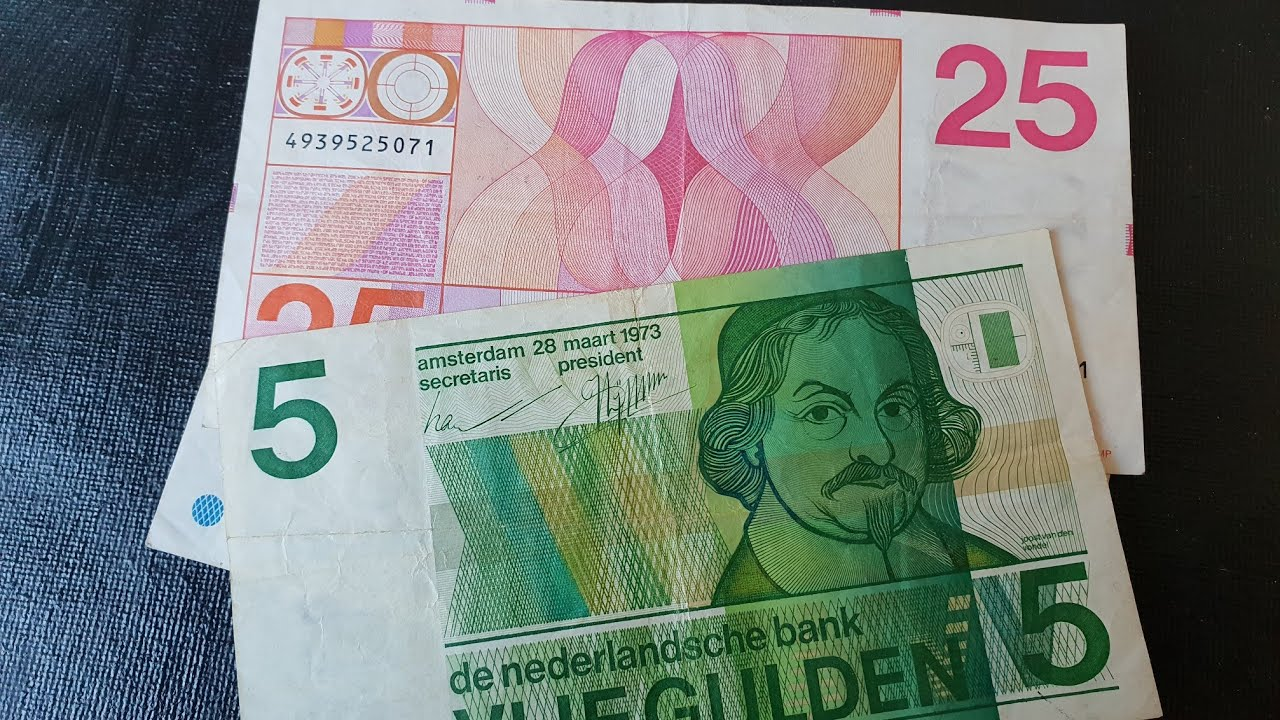 Nice Dutch banknotes of the 60's and 70's 7