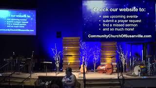 Sunday Morning Service July 18, 2021!