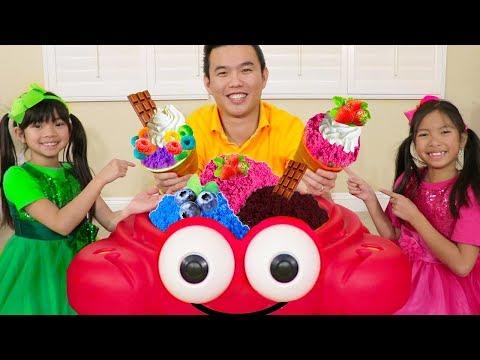 Ice Cream Song | Wendy & Emma Sing-Along Nursery Rhyme Kids Songs