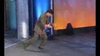 Jackie Chan breaking stones on german Bet Show