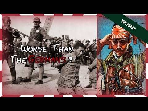 Why The Japanese Were The EVILEST And Most IMMORAL Army Of WWII