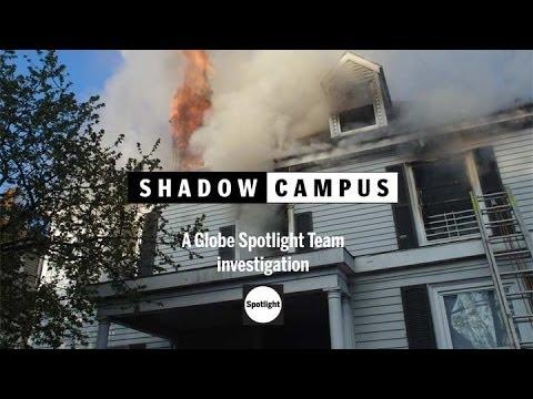 Shadow Campus - Boston Globe Spotlight report preview