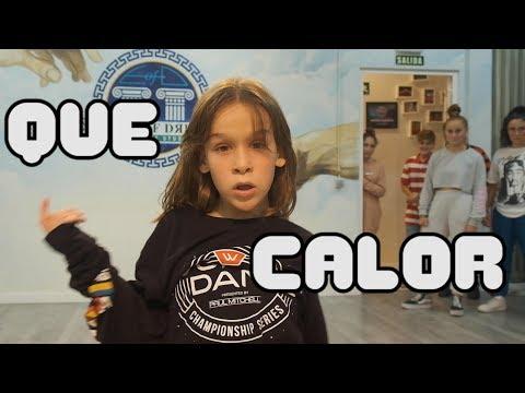 Major Lazer - Que Calor (feat. J Balvin & El Alfa)   Choreography By Sebastian Linares