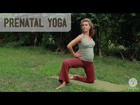 Prenatal Yoga Routine: Maternity Circle (all trimesters)