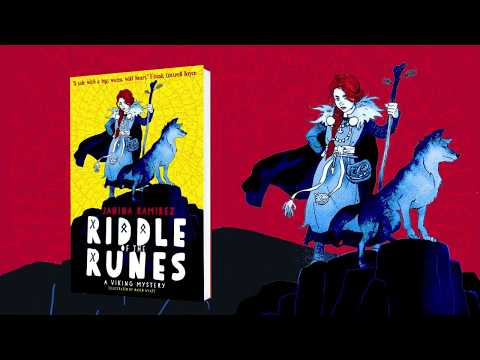 Riddle Of The Runes By Janina Ramirez And David Wyatt - Book Trailer