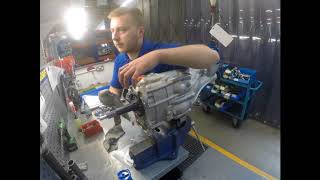 Assembling a Quaife QBE60G 6-Speed Sequential Gearbox