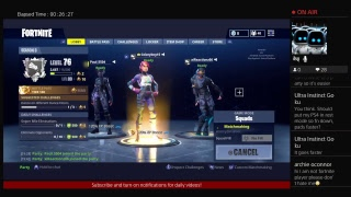 Fortnite With Subs! Join.