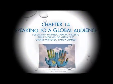 Chapter 14 - Speaking to a Global Audience
