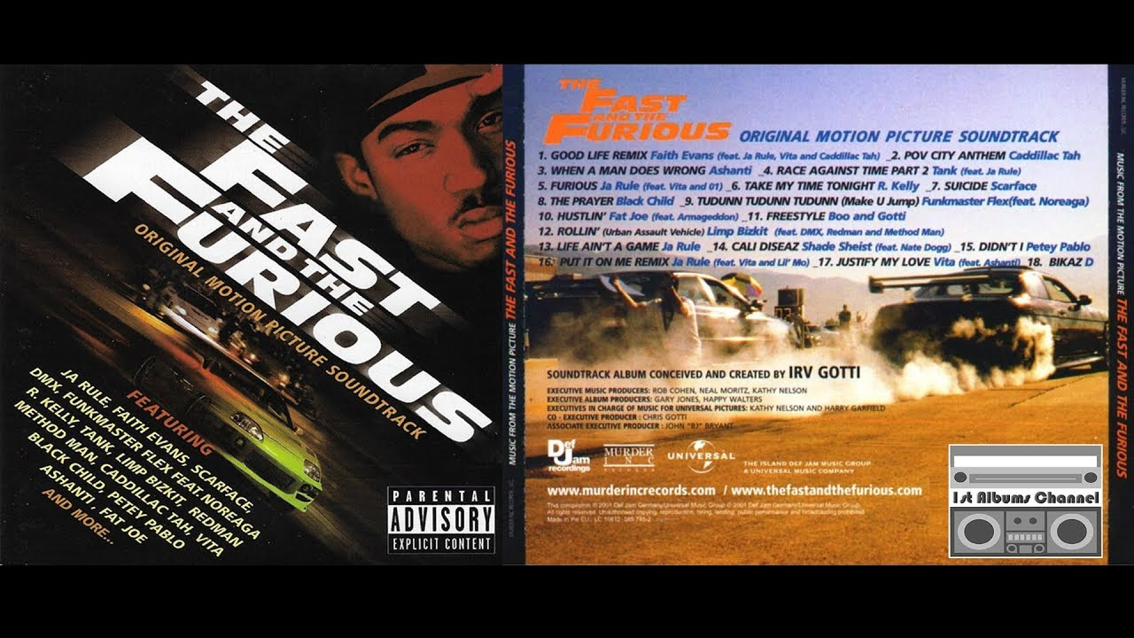 The Fast and The Furious Soundtrack Music - Complete Song ...